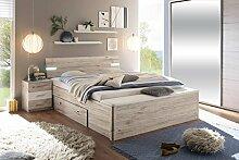 lifestyle4living Bett, Bettanlage, Schlafbett,