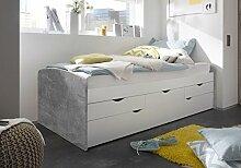 lifestyle4living Bett, Schlafbett, Kojenbett,