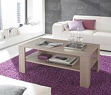 lifestyle4living Couchtisch in Braun | Tisch mit