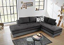 lifestyle4living Dauerschläfer, Ecksofa, Sofa,