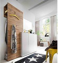 lifestyle4living Garderobe, Garderobenschrank,