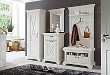 lifestyle4living Garderobe, Set, Flurmöbel,