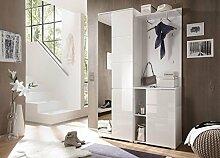 lifestyle4living Garderoben-Set in Weiß,