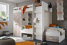 lifestyle4living Hochbett, Jugendzimmer,
