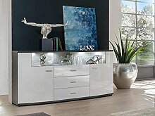 lifestyle4living Kommode, Sideboard, Anrichte,