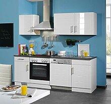 lifestyle4living Küche mit Elektrogeräten 220cm