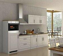 lifestyle4living Küche mit Elektrogeräten 290cm