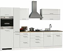 lifestyle4living Küche mit Elektrogeräten 320cm