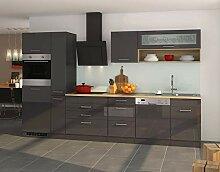 lifestyle4living Küche mit Elektrogeräten 330cm