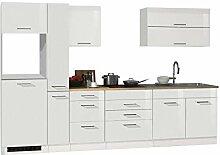 lifestyle4living Küche ohne Elektrogeräte 320cm