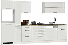 lifestyle4living Küche ohne Elektrogeräte 330cm
