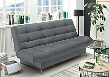 lifestyle4living Schlafsofa in anthrazit