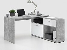 lifestyle4living Schreibtisch, Bürotisch,