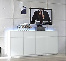 lifestyle4living Sideboard, Kommode, Highboard,