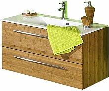 lifestyle4living Waschtischunterschrank aus Bambus