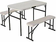 Lifetime 80352 Zusammenklappbarer Picknicktisch