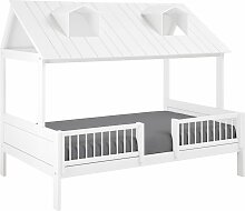 LIFETIME Kinderbett Ferienhaus Kinderbett 120x200
