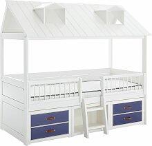 LIFETIME Kojenbett Beachhouse Kinderbett violett