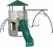 Lifetime Spielturm Kletterturm Spielplatz inkl.