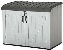 Lifetime XXL Kunststoff Mülltonnenbox,