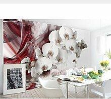 Lifme Weiße Blume Wandfarbe, Schwanendeko,
