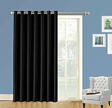 LIFONDER Raumteiler Vorhänge – extra breit und