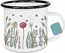 Ligarti Emaille Tasse (leicht & robust)   Camping