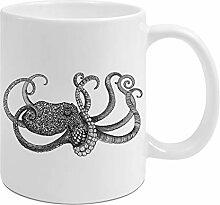Ligarti Keramik Tasse   handveredelter Becher  