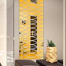 LIGEsayTOY 1Set 3D DIY Mode Acryl Wandaufkleber
