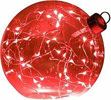 Light Creations Glasslight Kugel Weihnachten