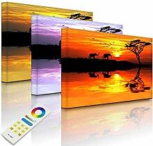 Lightbox-Multicolor   LED Bilderrahmen mit Motiv  