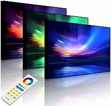 Lightbox-Multicolor | LED Leuchtbild | Nordische