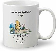 LightCreative Disney Winnie The Pooh Quotes Tasse