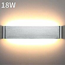 Lightess 18W Wandleuchte Innen LED Treppenhaus