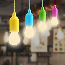 Lightess 4er Pull LightLampe Tragbare LED