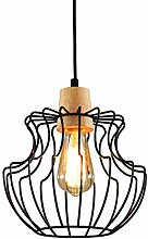 Lightess Pendellampe Vintage Industrial