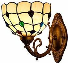 Lighting Wandleuchte,Tiffany Style Schlafzimmer