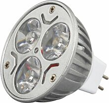LightInTheBox 1 Stück 3W MR16 210-245lm Kaltlichtlampe LED Spot-Beleuchtung (12V)