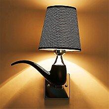 Lightoray Wandlampe E27 Vintage Edison Bulb