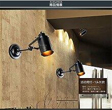 Lightoray Wandlampe E27 Vintage Edison Bulb Loft
