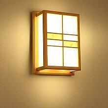 Lightoray Wandleuchten Holz- Zimmer Bed Head