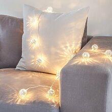 Lights4fun 16er LED Lichterkette Marrokanische
