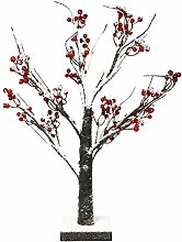 Lightshare Snow Bonsai Baum mit Red Berry erleuchte