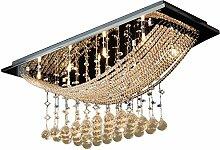 Lightsjoy Kronleuchter Kristall Modern LED