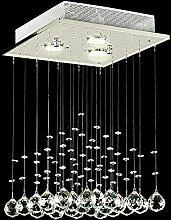 Lightsjoy LED Kristall Deckenleuchte Kronleuchter