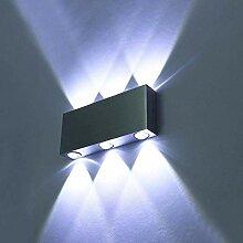 Lightsjoy LED Wandleuchte Innen Modern Silber