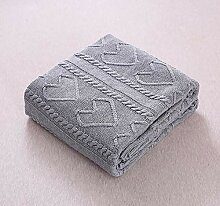 LIGYM Baumwoll-Decke, Wolldecke, Klimaanlage Decke