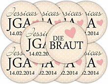 "lijelove Buttons, 04-01PL, ""I do"" 10er Set"