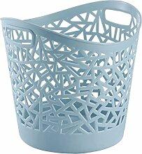 Likeluk Plastik Wäschekorb Mehrzweck-Korb aus