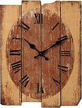Likeluk Wanduhr Vintage, Lautlos Wanduhr Holz Uhr